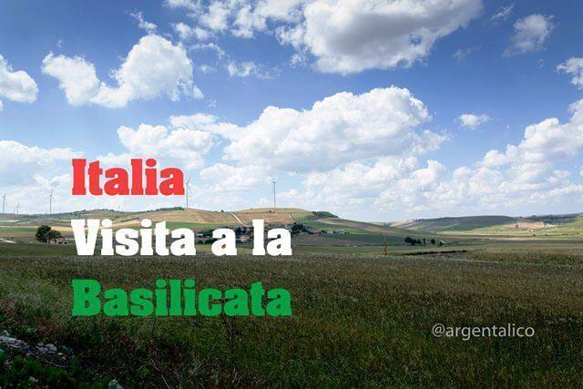 Italia visita a Basilicata