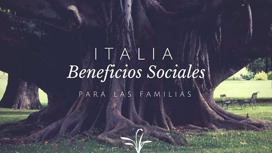 Italia beneficios sociales